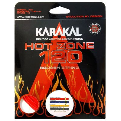 Karakal Hot Zone 120 Red 10 mtr.